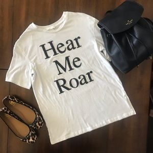 H&M Hear Me Roar Tee